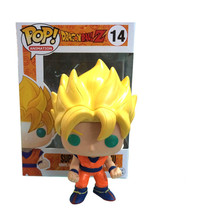 New hot sale Q version FUNKO Pop new Dragon Ball Z Super Saint Seiya Goku Son Gokou Boxed PVC Collection 10CM Free Shipping