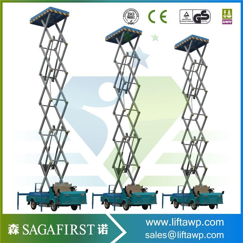 8m Self-Propelled Scissor Lift
