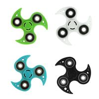 Fidget Spinner Luminous Hand Spinner Tri Fidget Desk Reduce Stress ADHD EDC Kids Adult Fidget Toy