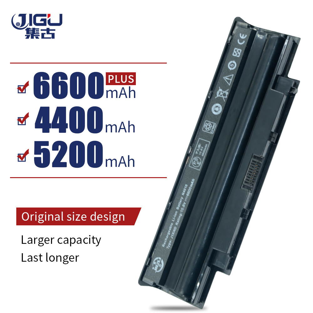 JIGU M4040 M4110 M5010 M5030 M5040 M5110 N3010 N3110 N4010 N4120 Laptop Battery For Dell For INSPIRON 13R 14R 15R 17R image