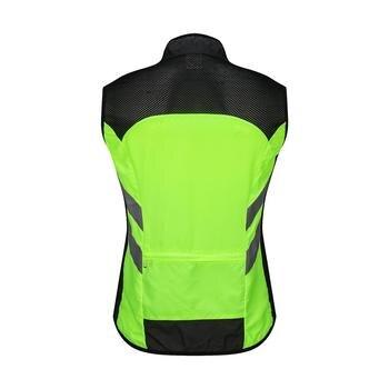 Велоспорт велосипедный светоотражающий жилет велосипедная защитная одежда ветрозащитная Предупреждение ющая куртка с высокой видимостью...