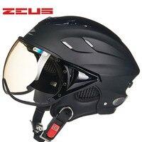 ZEUS  casco de verano para motocicleta  casco UV forrado super transpirable  ZS-125B