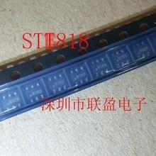 Бесплатная доставка 20 шт./лот STT818B SOT23-6 PNP транзистор новые оригинальные