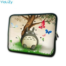 купить print Totoro Laptop sleeve 7.9 tablet case 7 soft shockproof tablet cover Neoprene notebook bag for ipad air 2 case TB-23807 дешево