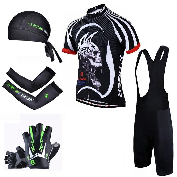 Pro X-Tiger Summer Big Cycling Set ! 2018 Maillot Ropa Ciclismo Racing  Bicycle Clothing Mans MTB Bike Clothes Cycling Jersey Set 89c39ff96
