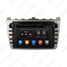 8″ inch Android 4.4.4 Quad Core Car DVD GPS Radio Head Unit For Mazda6 (GJ;2008~2012) #FD-4526