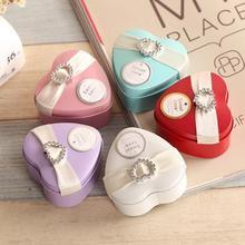 Personalized Creative Candy Box 10pcs Wedding Gift Heart-shaped Tinplate Supplies