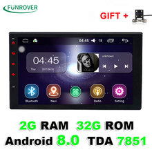 Quad core 2 din android 8 0 Universal Car Multimedia Player Car Radio Dvd Player Stereo