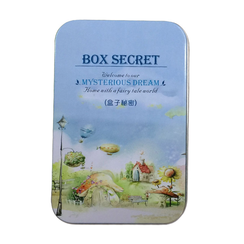 Elegant Box Secret DIY Doll House Miniatura With Furnitures Bunny Bracket Handmade Gift For Children Squirrels Paradise T004 #D