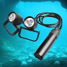 Супер Яркий 2000 Люмен Профессиональный Дайвер лампы дайвинг фонарик 3 режима (Низкий-Средний-Высокий), 1 год Гарантии