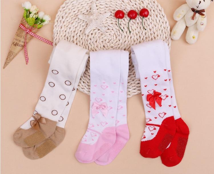 Nieuwe Baby Meisjes Panty Kinderen peuter Prinses Dikke bovenkleding Panty slip baby Lente Panty Kousen Lace Strik Broek