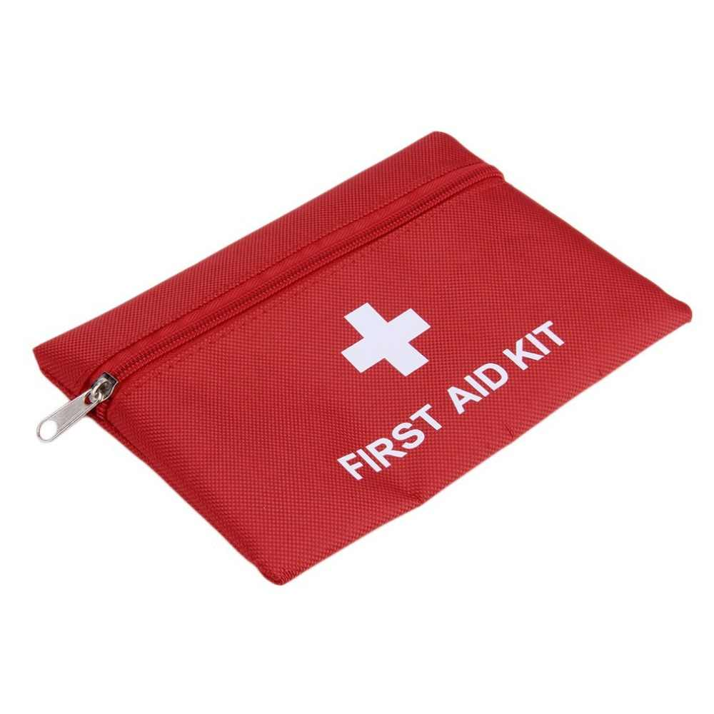 1.4L First Aid Kit Emergency Medical First aid kit Bag For Camping Waterproof Car kits bag Outdoor Travel Survival kit Empty bag