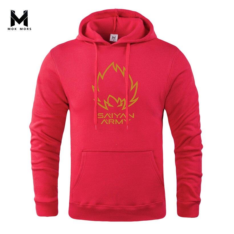 Hoodies Pullover Long-Sleeve Hip-Hop Winter The Casual MOK Male Keep-Warm High-Quality