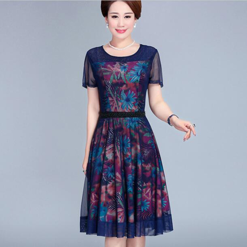 Online Get Cheap Mature Womens Summer Dresses -Aliexpress.com ...