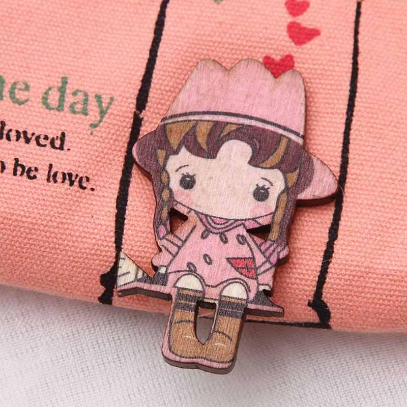 Lindo bolso de lona para monedas Lovely Girls el bolso del soporte del columpio pequeño monedero de la tarjeta del monedero de la cremallera caja de la llave del dinero Clip