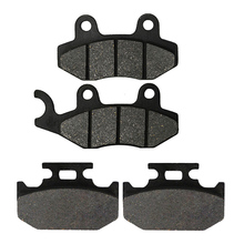 цена на Motorcycle Front and Rear Brake Pads for YAMAHA TTR 250 TTR250 1999-2006 YZ 250 YZ250 1990 1991 1992 1993 1994 1995 1997