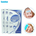 3Bags/3Pcs Baby Cooling Fever Plaster For Children Temperature Ice Instant Cooling Gel Patch Relief Headache plaster C485