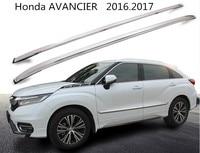For Honda AVANCIER 2016.2017 Roof Racks Auto Luggage Rack High Quality Brand New Aluminum Screw Installation Car Accessories