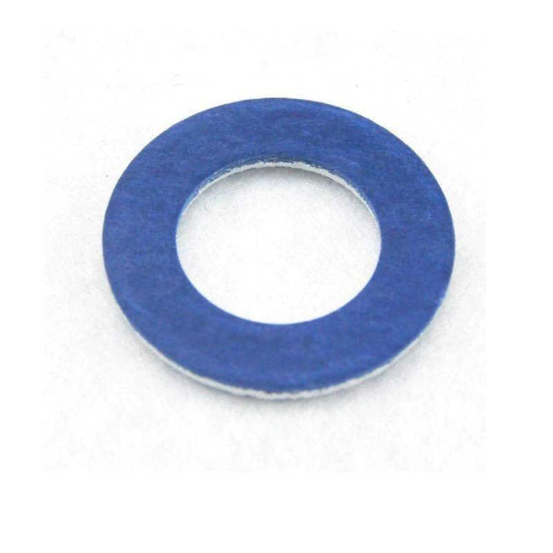 10X Mobil Drain Biru Segel Mesin Cuci Gasket Ring OEM 90430-12031 untuk Toyota