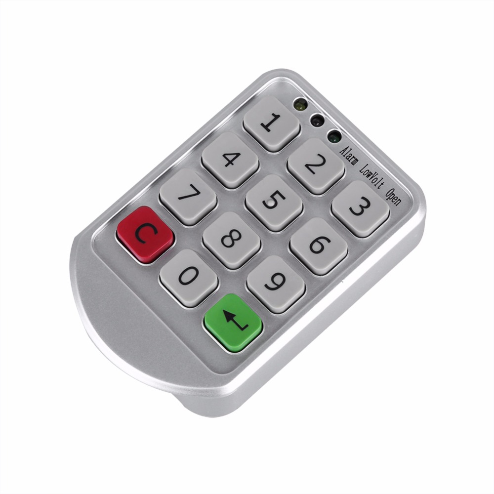 Electronic Digital Combination Lock Password Keypad Number Cabinet Circuit Door Code Locks For Wooden In From Home Improvement On