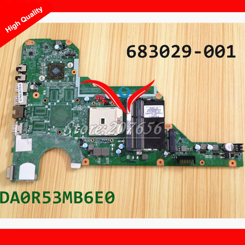 Подробнее о 683029-001 DA0R53MB6E0  Laptop motherboard Fit for HP Pavilion G4 G6 G7 Series Notebook PC, 100% working 683029 501 motherboard for hp pavilion g4 g6 g7 g4 2000 g6 2000 683029 001 laptop notebook systemboard mainboard 90days warranty