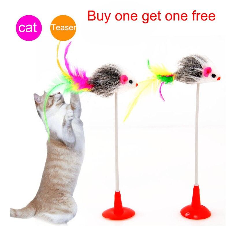 Toppkvalitet Husdjurskatt leksak Söt muskakor Vårkatt Tease Design - Produkter för djur