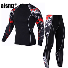 Aismz Wholesale New warm brand name thermal underwear thermo