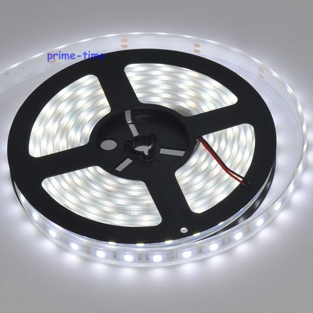 IP68 Waterproof 5050 LED Strip,12V 60LED/M 5M flexible Strip,White Warm White RGB,Underwater Use for Swimming Pool,Fish Tank 4