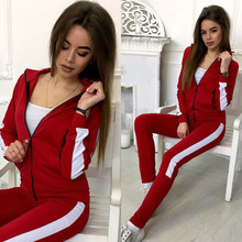 2019 Style New Women Outfits Two Piece Set Top and