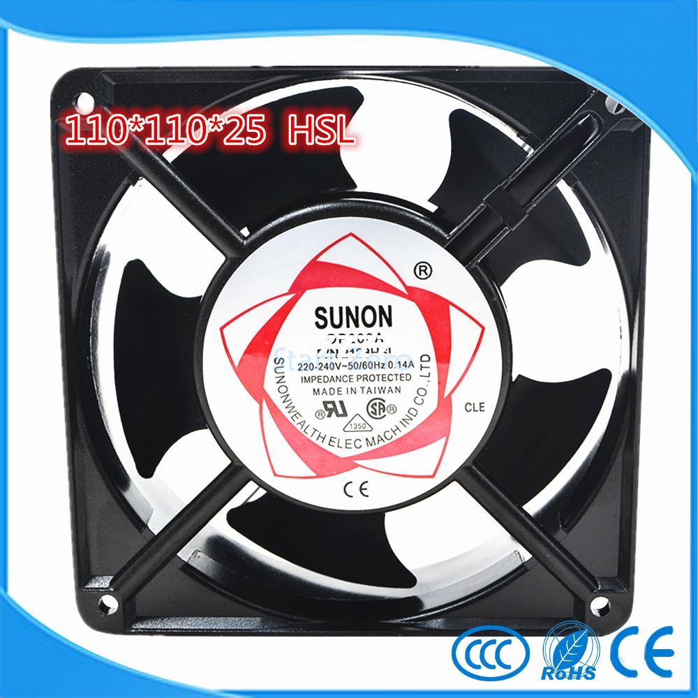 SUNON 11CM 1125 11025 HSL 220V 11CM sleeve bearing cooling s