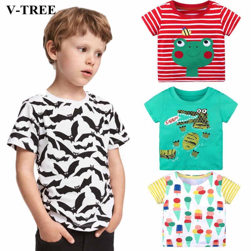 157e21fdd 2019 Summer Children T Shirt Cartoon Kids Tops Cotton Shirts For Girls Boys  Tees Baby Casual