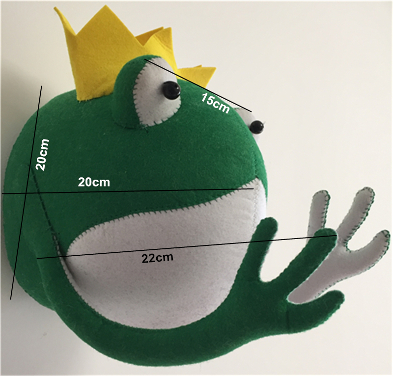 size frog