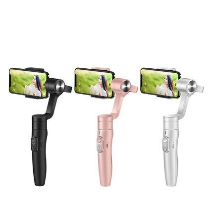 FeiyuTech Vimble 2 Feiyu stabilisateur de cardan de Smartphone à 3 axes avec trépied de poteau 183mm pour iPhone X 8 7 XIAOMI Samsung