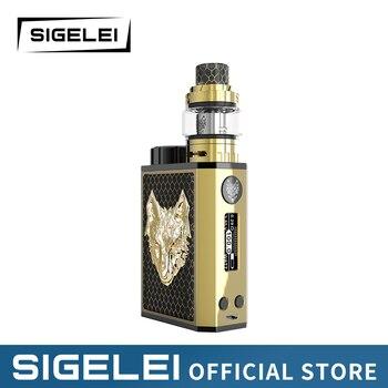 Vape kit Snowwolf Mini Kit 10-100w vape mod with snowwolf mini tank e electronic cigarette kit цена 2017