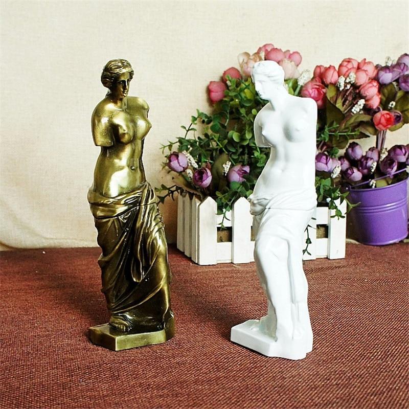 Metal Venus Goddess Works Kunstfiguren Skulptur Statue Handwerk - Wohnkultur