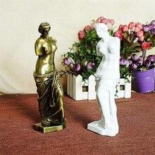 Goddess Desk Figures Metal