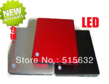 with LED light USB 3 0 External ODD HDD Enclosure Device optical driver and Hard font