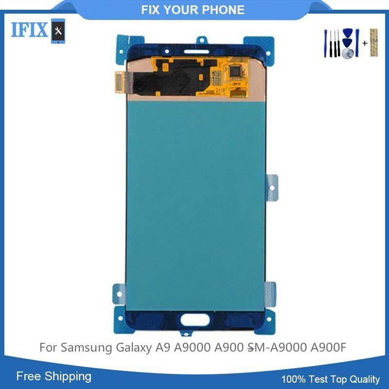 Lcd-Display Assembly Digitizer Touch-Screen Samsung Galaxy for A9/A9000/A900 SM-A9000