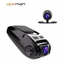 Apeman Full HD 1080 P регистраторы DVR C550 авто диск видео Регистраторы Камера с Двойной объектив видеокамера Новатэк NTK96655