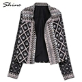 Short Wide waisted Coat Slim Coat 2016 Free Shipping Pokets Women Top Out Ware Trench Fashion Zipper  Cotton Print Coat