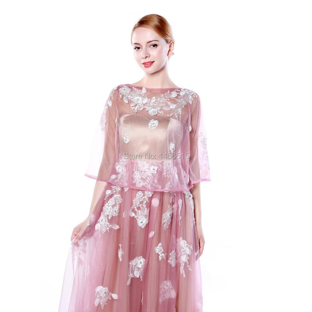 Menoqo 2 en 1 robes de soirée de maternité robes formelles longues femmes enceintes robes de soirée avec veste châle - 3