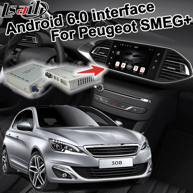 Special Offers Android 6 0 GPS navigation box for Peugeot 308 MRN