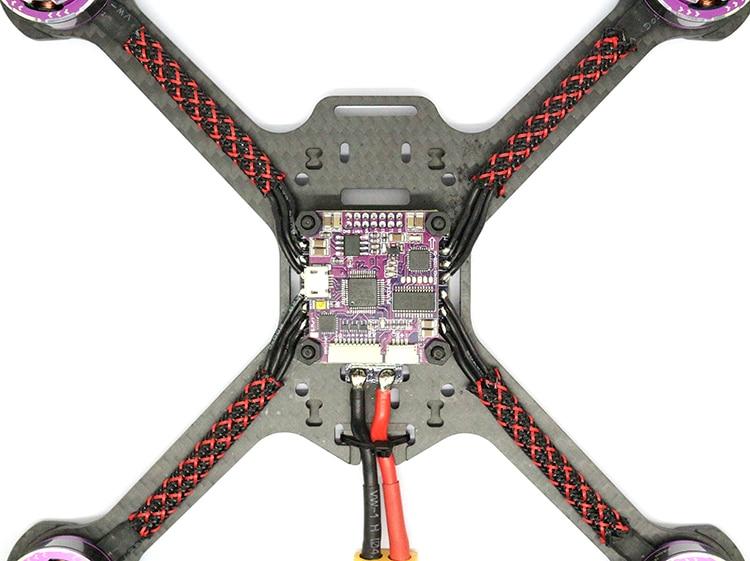 Raptor s tower ESC5V/12 V 30A 4 en 1 ESC 2 4 S Support Dshot600 + F3 Drone + OSD pour RC Racing Toy avions F19840 - 3