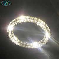 Free Shipping New Modern Crystal Chandelier Light Fixture Pendant Ceiling LED Lamp Luster Pelucia Lighting Items