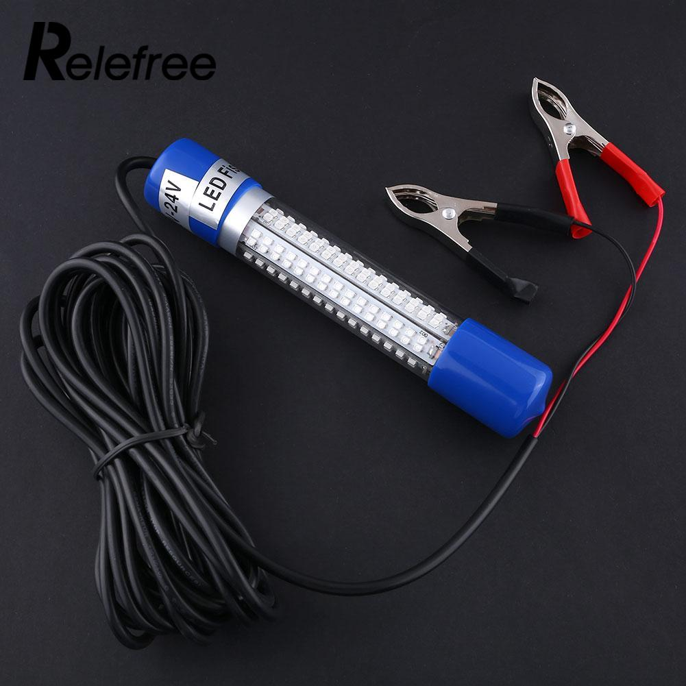Led Lamps 12v Green Night Led Underwater Submersible Fishing Fish Lure Baits Bulb Lamp Light Clip-on Free Shipping