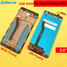 High Quality For Xiaomi Redmi 4 3GB RAM 32 ROM LCD Screen Display+Touch Replacement Accessories 5.0