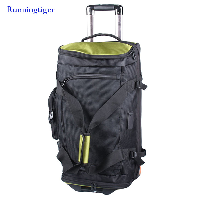 Large-capacity Suitcase Waterproof Travel Bag Rolling Luggage Oxford Bag Trolley Case Men's 27