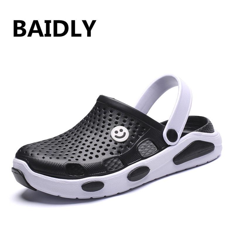 Herren Sandalen Casual Männer Schuhe Garten Sommer Sandalen Mode Slip Auf Hohl Hausschuhe Sapatos Hembre Sapatenis Masculino Männer Sandalen