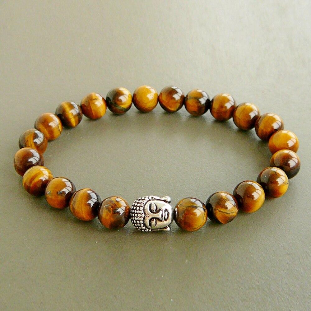 Sn0249 Buddha Wrap Bracelet Meditation Yoga Bracelet Men S