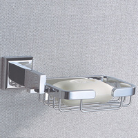 Copper Soap Holder Bathroom Accessories With Chrome Brass Shower Soap Basket With Wall Mounted